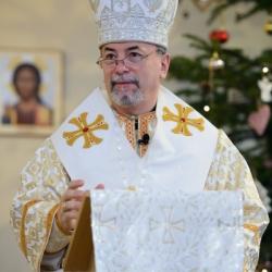 Návšteva arcibiskupa vladyku Cyrila Vasiľa (25.12.2017)